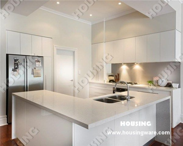 Modern Kitchen White Gloss Lacquered photo - 2