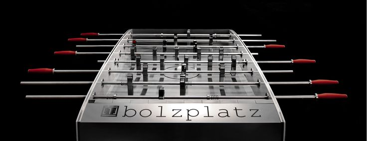 The element of design brings this masterpiece with the sleek and slender ability one player must move on the field to win #FoosballTable #Luxury #Sports #Soccer #Toronto #Vanvouver #thelowitz #thebolzplatz