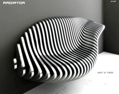 le radiator par Krzysztof Urbanski decodesign / Décoration