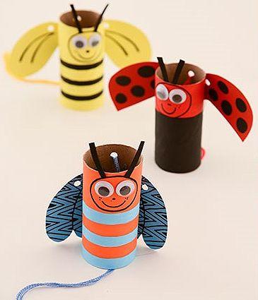 Brinquedos feitos com rolo de papel higiênico | Pra Gente Miúda