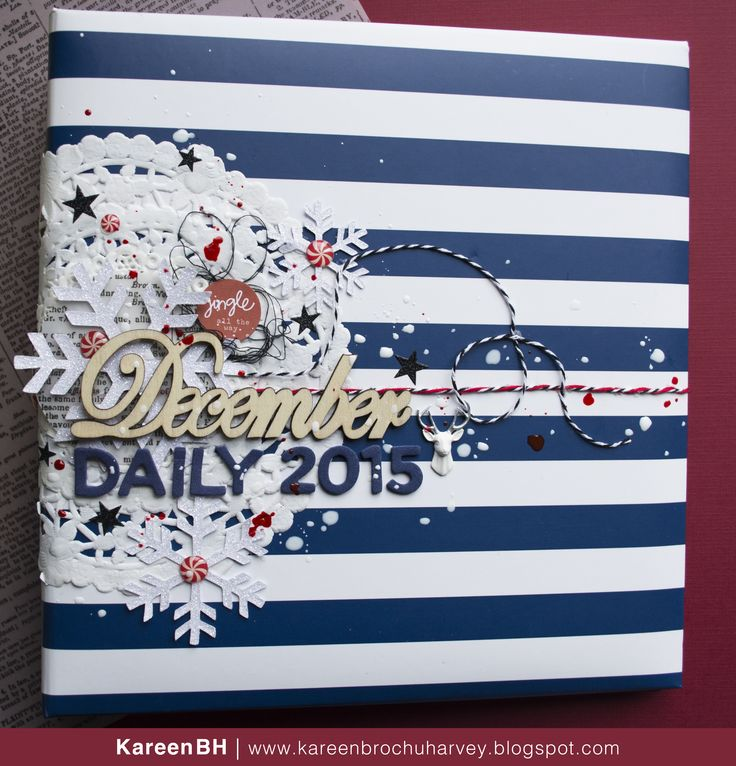 December Daily 2015 cover by KareenBH. www.kareenbrochuharvey.blogspot.com