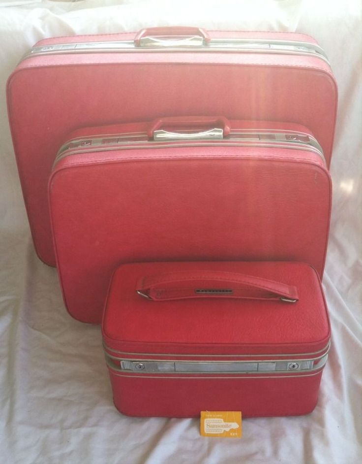35 best EBAY: Lovely Vintage Luggage images on Pinterest | Vintage ...