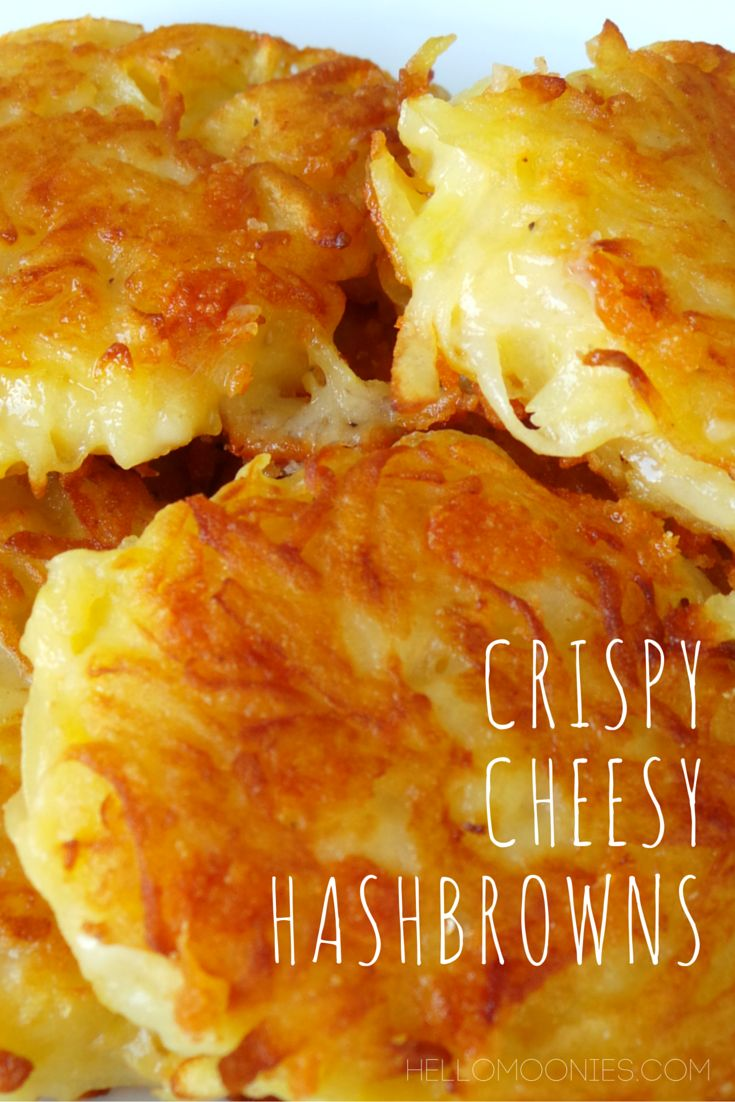Crispy Cheesy Hashbrowns    hellomoonies
