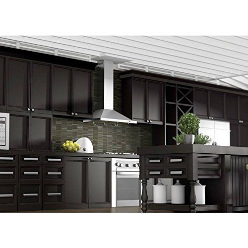 awesome Z Line KB-36 Stainless Steel Wall Mount Range Hood, 36-Inch