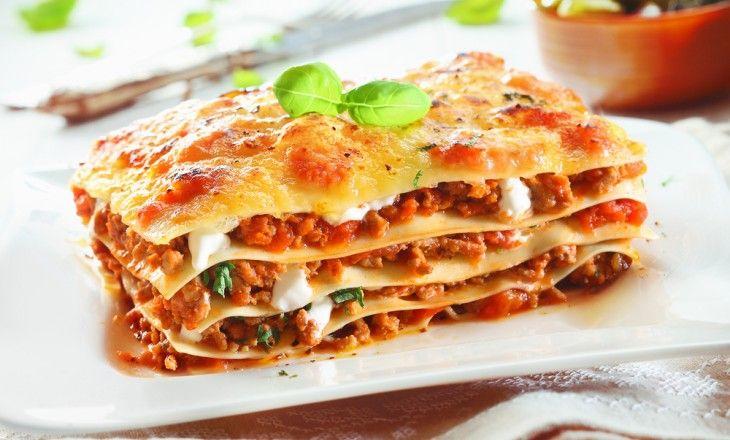 Alla vill ha lasagne till middag.