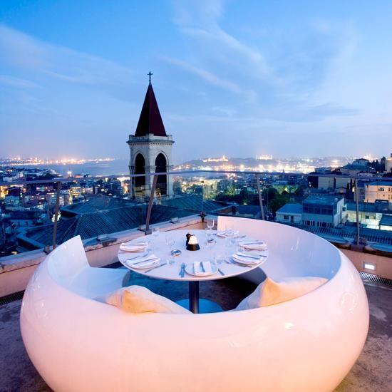 World's Best Restaurant Views: 360 Istanbul