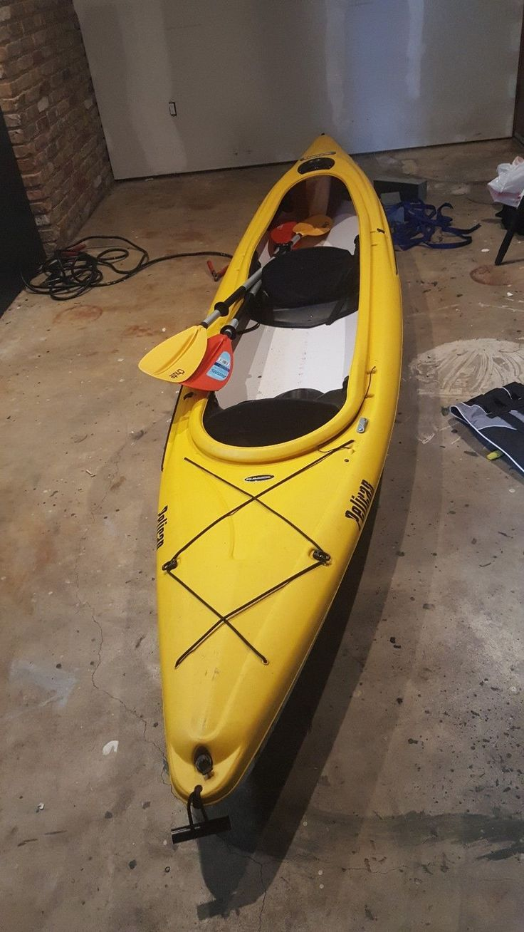 Kayaks 36122: 14Ft 2 Seater Kayak Pelican Pursuit 140T In Perfect Condition -> BUY IT NOW ONLY: $750 on eBay!