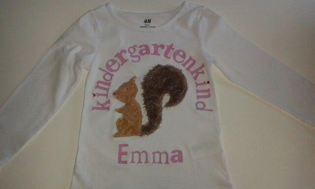 Namens T-shirt, Kindergarten,  bei MuMus Zauberwerkstatt