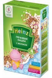 Хайнц кашка гречневая 250г  — 148р. ---------------------------- Молочная гречневая каша Хайнц не содержит глютен, богата железом, полезна детям с недостаточным уровнем гемоглобина, является сбалансированным питанием.     В большом количестве гречневая крупа содержит белки, пищевые волокна, витамины группы В,РР, минеральные вещества – магний, медь, цинк. Дополнительно молочная гречневая каша Heinz обогащена 12 витаминами и 4 минералами.     Состав молочной гречневой кашки Heinz:   мука…