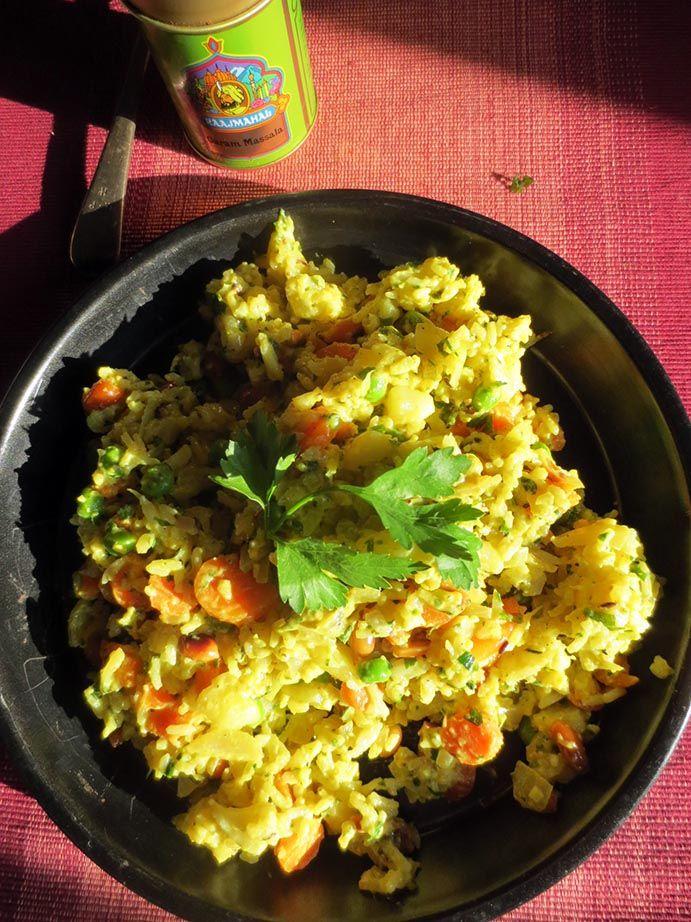 Biryani (Riz Basmati aux légumes, Inde)