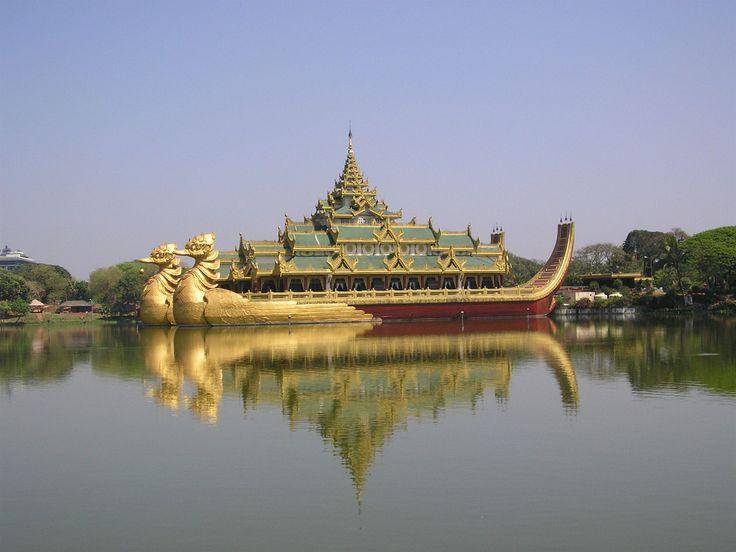 Fotogalerie: JV Asie - Barma, centrální městský park v Rangúnu