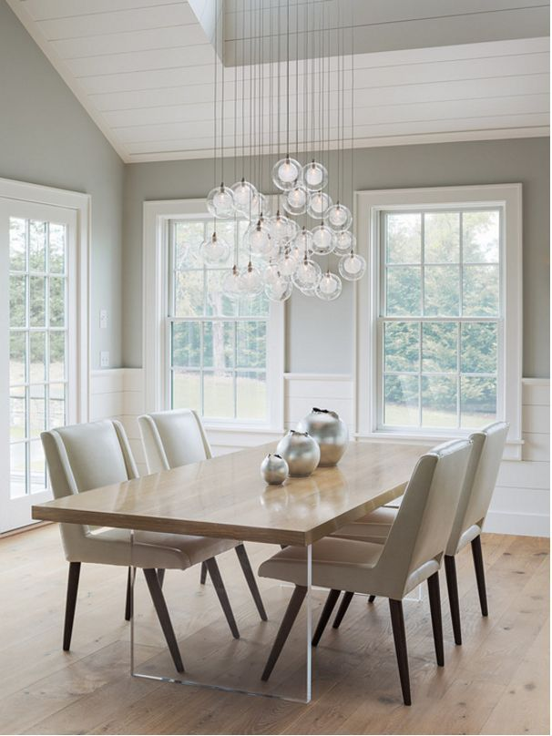 OUR TOP 3 TIPS FOR CHOOSING STATEMENT LIGHTING Transitional Dining RoomsModern