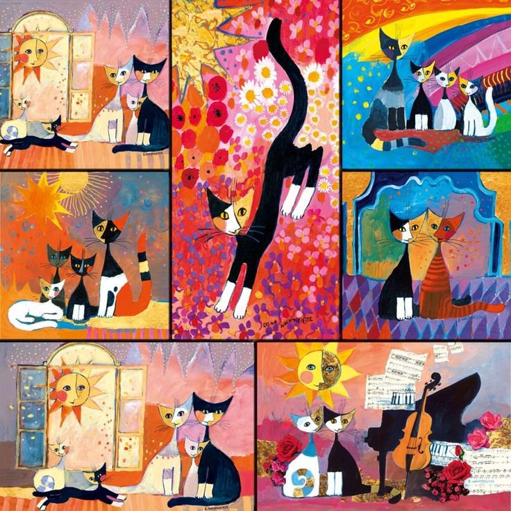 18 best rosina wachtmeister art images on pinterest cat art paintings and cat illustrations. Black Bedroom Furniture Sets. Home Design Ideas