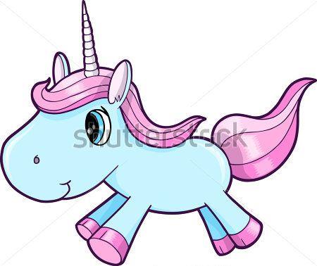 cute-blue-unicorn-animal-vector.jpg (450×378)