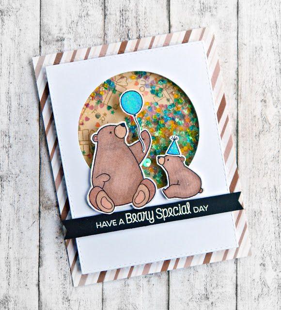 RL Design - Invitatii si felicitari Handmade : Beary Special Day - MFT Handmade Card