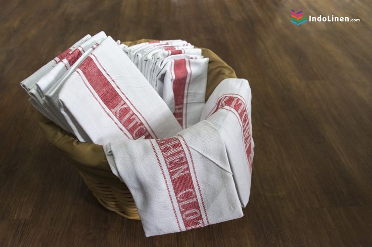Restaurant kitchens are hot, they move fast, and there's always a chance ingredients  scattered all over the table and there is one professionals need to keeps things sanitary, IndoLinen Kitchen Towel   IndoLinen - Indonesia Hotel and Home Linen Supplier.  Purchase online and we will deliver it to you.