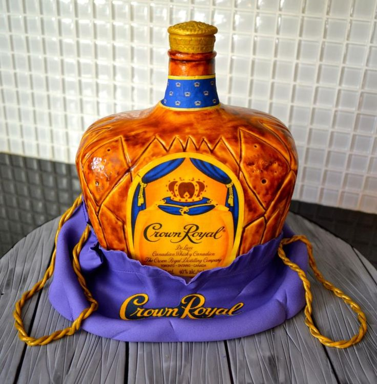 Crown Royal cake - Cake by Carol