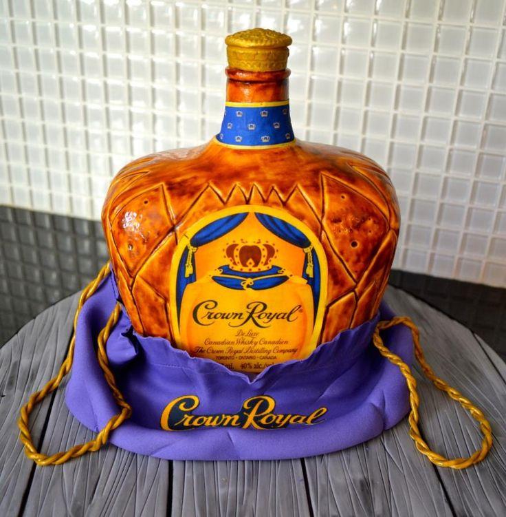 Crown Royal cake - Cake by Carol