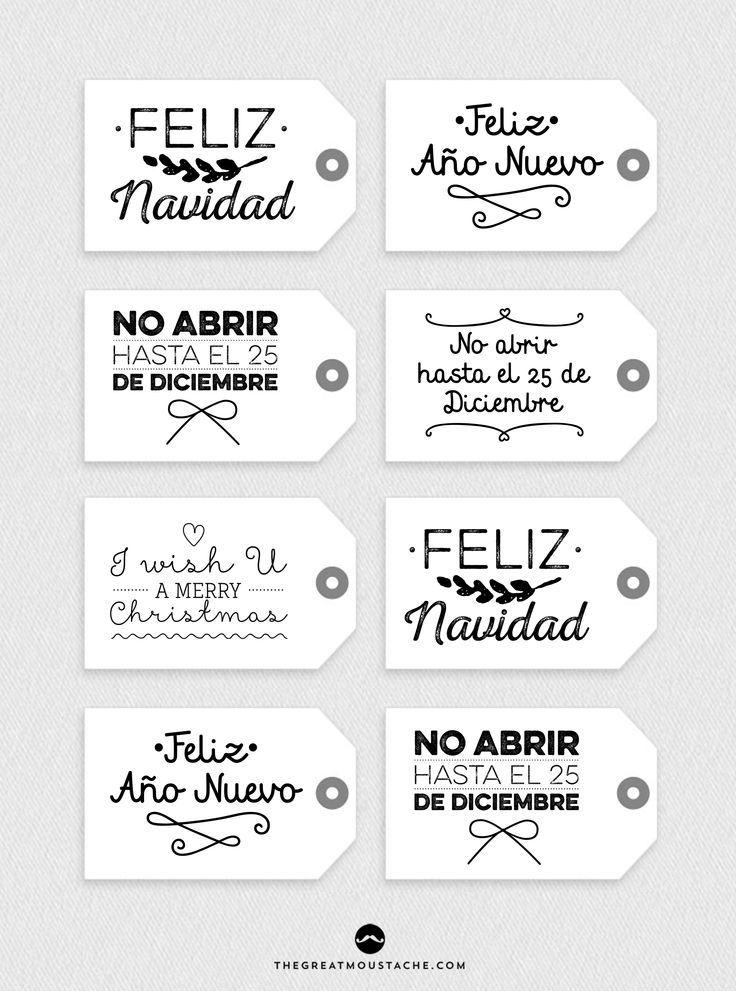 DIARIODECO: 14 láminas y etiquetas gratis para Navidad