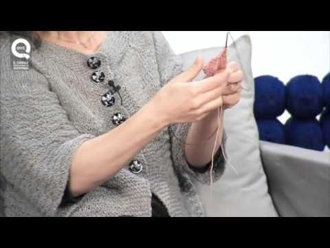 ▶ Lavora a maglia con Emma Fassio - Gettato come aumento - YouTube