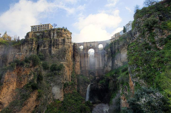Ronda - Andalousie - 30 ponts spectaculaires que vous devez traverser au moins une fois dans votre vie
