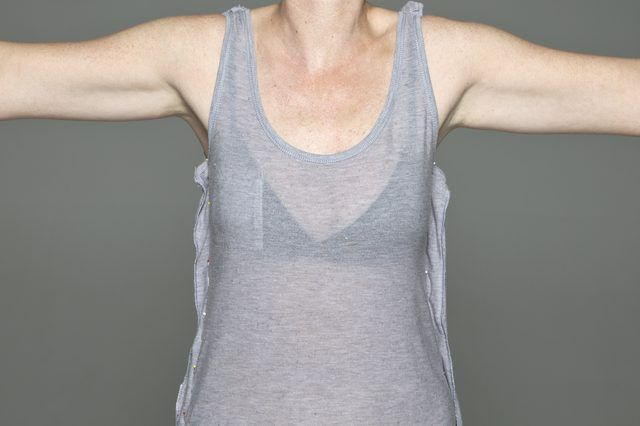 Taking in a tank top plus links to other mending http://www.ehow.com/how_8315535_make-tank-top-smaller.html