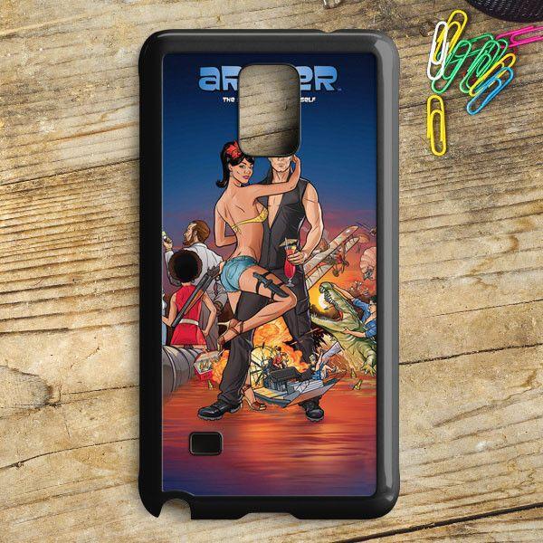 Archer Season 2 Samsung Galaxy Note 5 Case   armeyla.com