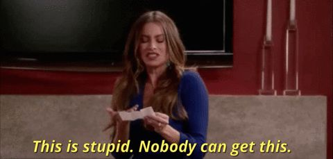 New trendy GIF/ Giphy. stupid latino latina sofia vergara latinawomen this is stupid this is dumb nobody can get this. Let like/ repin/ follow @cutephonecases