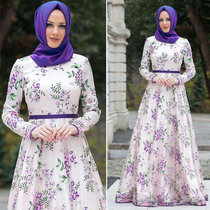 EVENING DRESS - EVENING DRESS - 4224LILA #hijab #naylavip #hijabi #hijabfashion #hijabstyle #hijabpress #muslimabaya #islamiccoat #scarf #fashion #turkishdress #clothing #eveningdresses #dailydresses #tunic #vest #skirt #hijabtrends