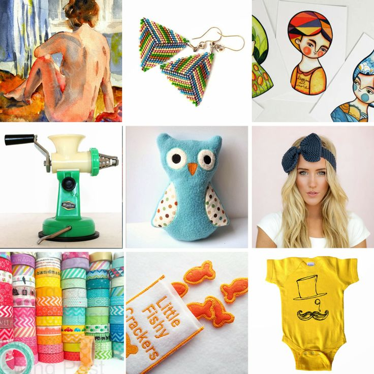 BuonaSeraBaby: 9 Great Finds on Etsy for under 20€ - 9 prodotti sul Etsy sotto 20€