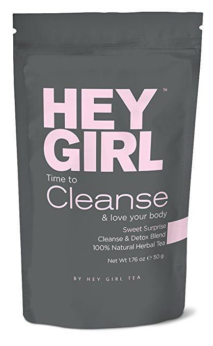 HEY GIRL Cleanse -Detox Tea - Helps with Bloating and Constipation, Colon ph #HeyGirlTea