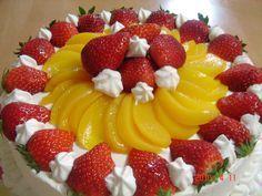 Torta (Pastel) de Frutas con Crema Chantilly « La Cocina de Perejilda