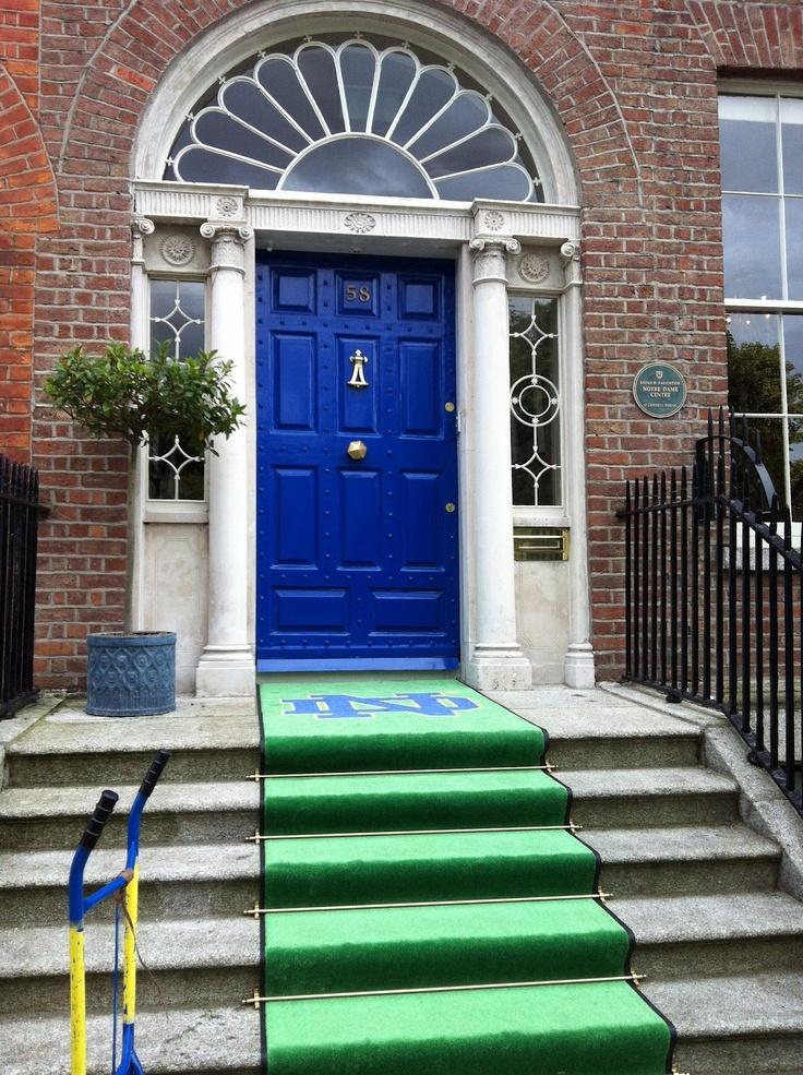 JIM SMALL'S NOTRE DAME GO IRISH BLOG -- www.NDGOIRISH.com -- A NOTRE DAME BLOG: The NOTRE DAME DOORS of IRELAND...