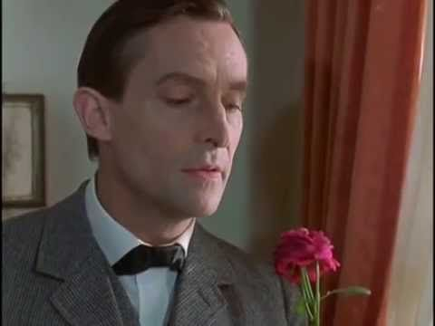 Jeremy Brett as Sherlock Holmes in The Naval Treaty (1984): 'We have much to hope for from the flowers'.