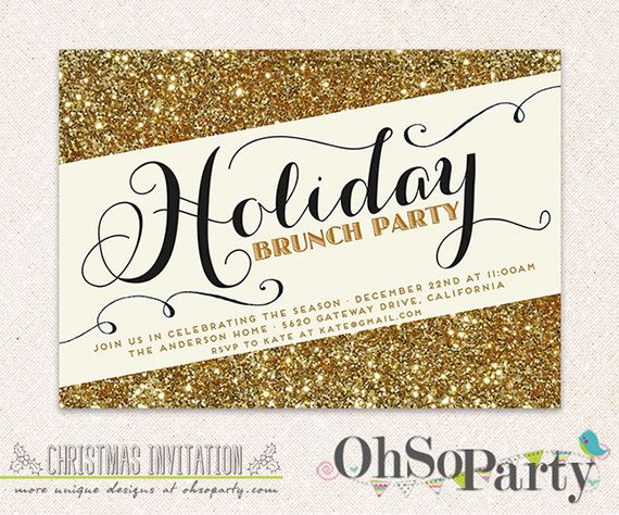 9 best images about HOLIDAY PARTY INVITATIONS – Custom Holiday Party Invitations