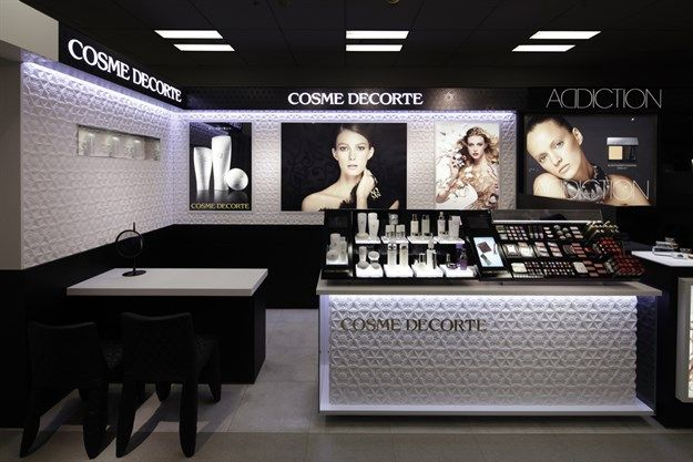 Cosme Decorte Store in Japan by Marcel Wanders