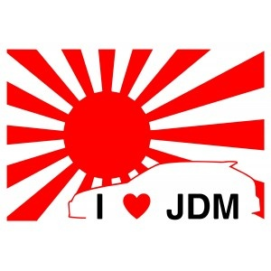 I love JDM - Vehicle Graphics, Vehicle Decals, JDM graphics, JDM vehicle graphics, JDM decals, JDM Stickers, JDM logos, Japanese domestic market graphics, Japanese domestic market decals, Japanese domestic market stickers.