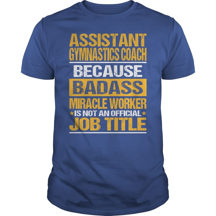cool   Awesome Tee For Assistant Gymnastics Coach -  Discount 20%