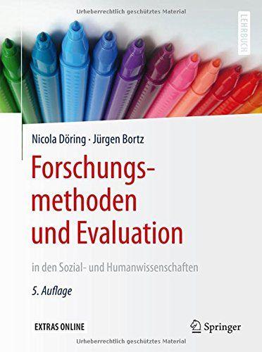 Forschungsmethoden und Evaluation in den Sozial- und Humanwissenschaften (Spring…