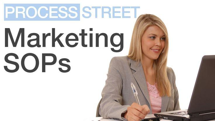 Standard Operating Procedures for Marketing Department | SOPs | Advertising