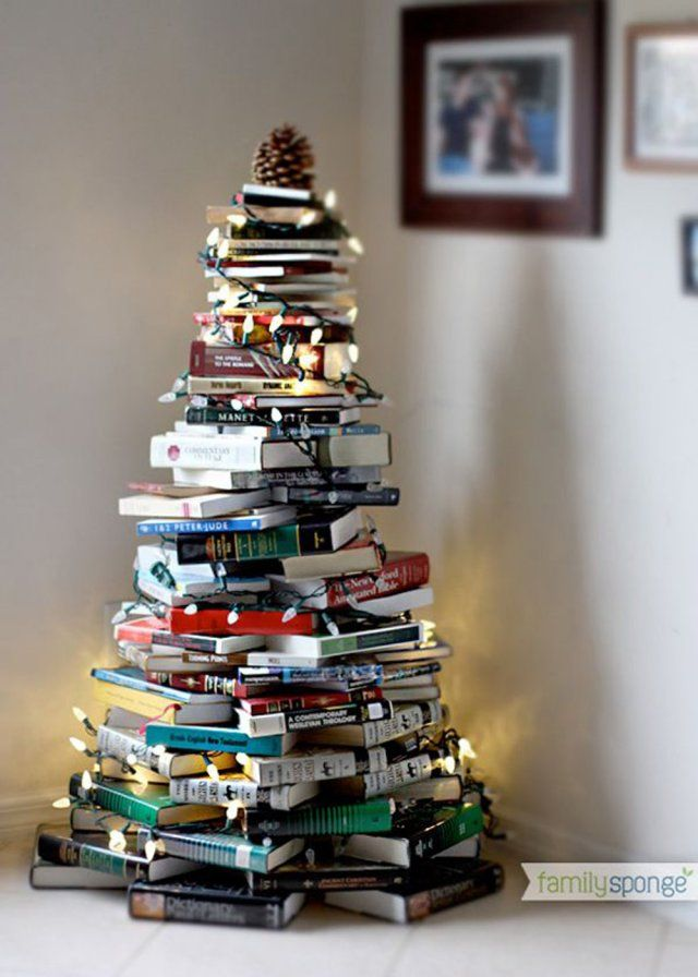 Une déco de sapin de Noël atypique