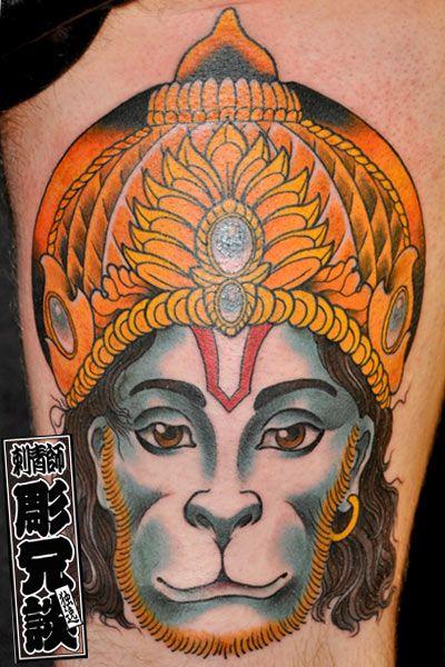 best 25 hanuman tattoo ideas on pinterest hanuman hanuman lord and hanuman chalisa. Black Bedroom Furniture Sets. Home Design Ideas