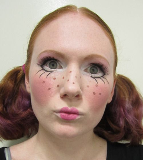 Top 25+ best Baby doll makeup ideas on Pinterest | Doll make up ...