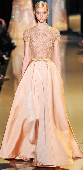 17 best images about elie saab on pinterest for Elie saab blush wedding dress