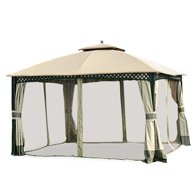 Dome Gazebo Replacement Canopy And Netting Set