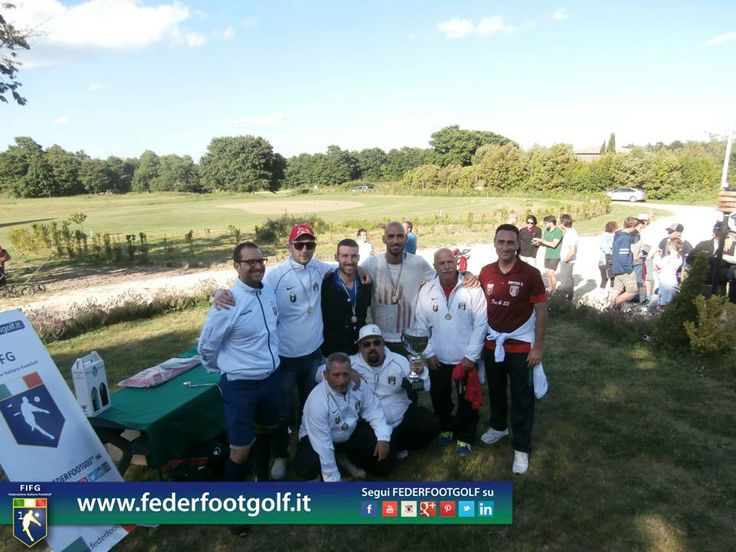 La squadra #Footgolf Livorno Campione al 2° Major di Acquapendente (VT).