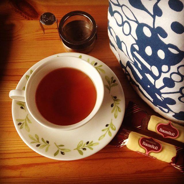 本日のお茶のテーマはすっきり いろいろ試しつつゆるっと() #紅茶 #ムジカティー #ラグジュアリーセイロン