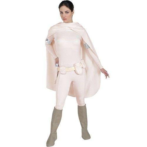 Womens Large Adult Padme Amidala Costume - Authentic Star Wars Costume, Multi