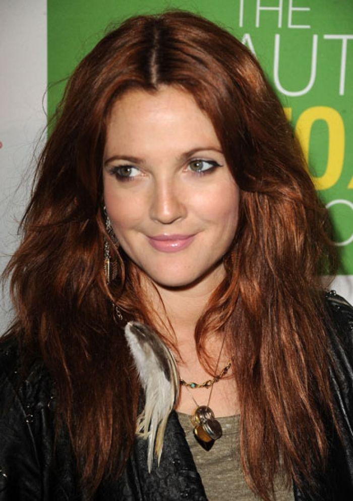 Perfect hair color: dark copper hair