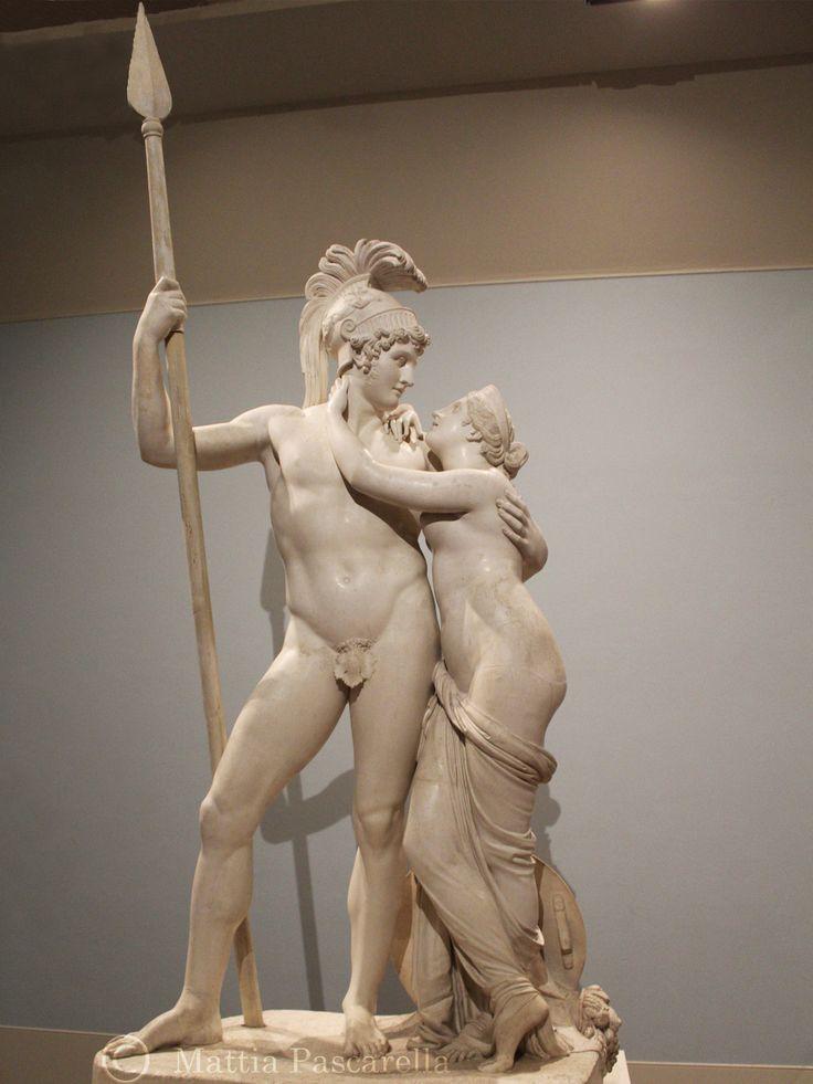 Opera in gesso, di Antonio Canova, 1822.